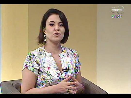 TVCOM Tudo Mais - Aline Mendes vai em uma academia para conferir como funciona o treino metabólico