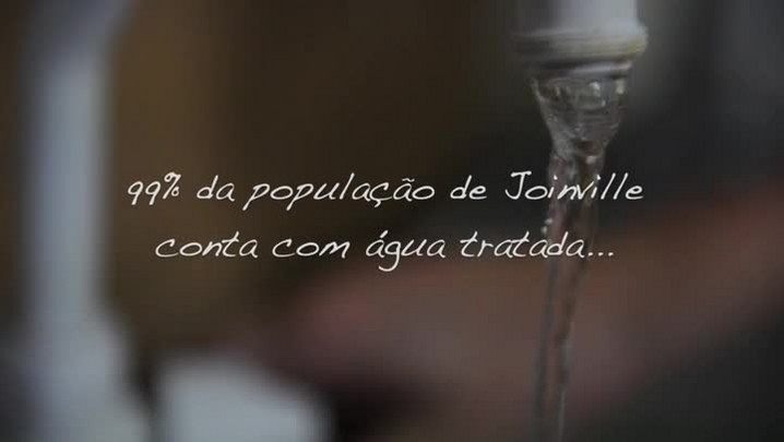 A luta diária pela água em Joinville