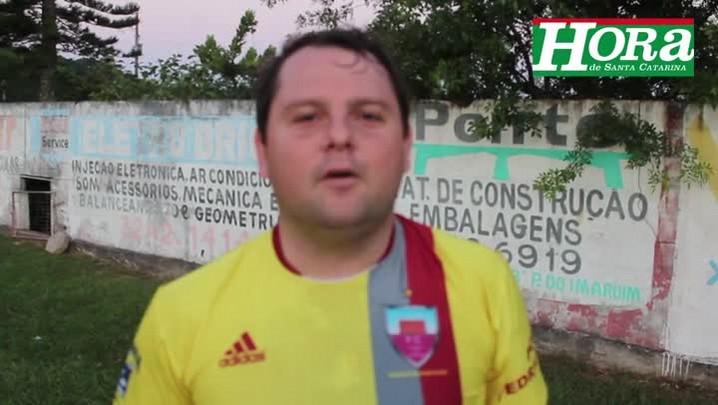 Final da Copa amizade, Palhoça - Sem Chance (amarelo) x Cascalho (verde) - 17/05/2014