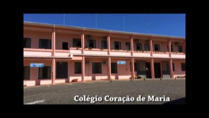 Simulação de incêndio Colégio Coração de Maria