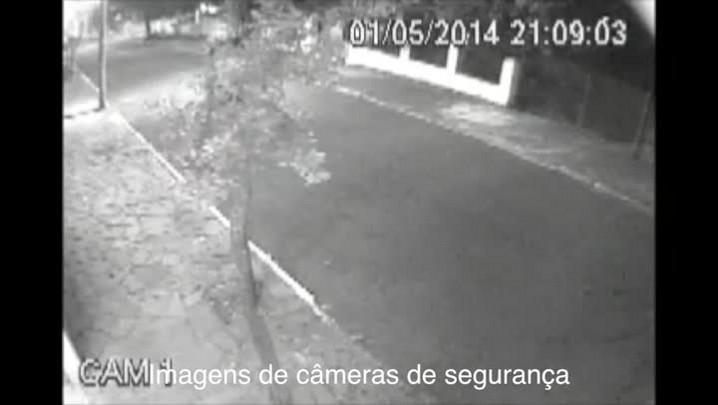 Confira imagens dos suspeitos de matar jornalista em Canoas.