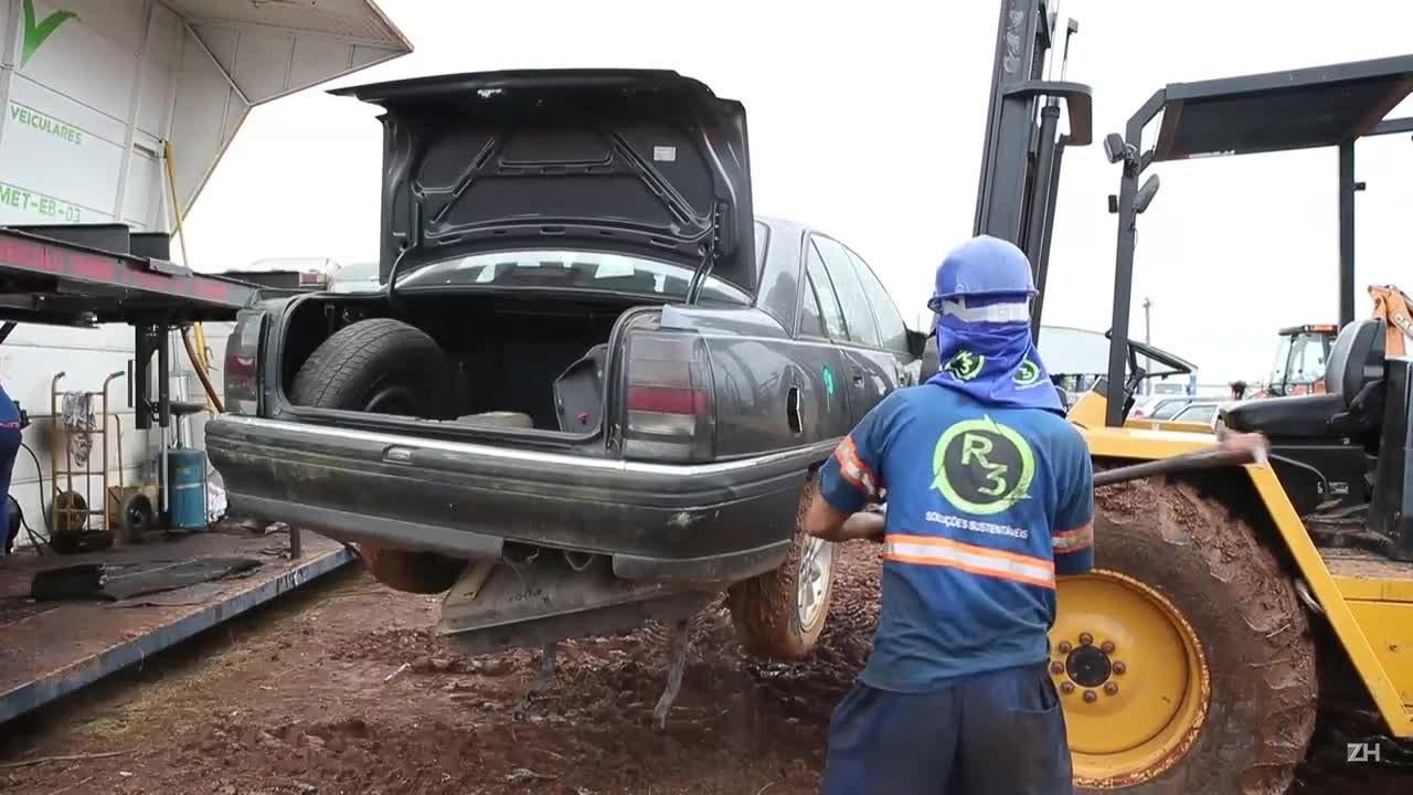 Como se recicla um carro?
