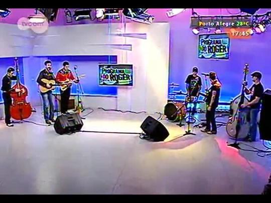 Programa do Roger - Bandas Old Stuff Trio e The Rockin\'Cats - Bloco 1 - 10/11/2014