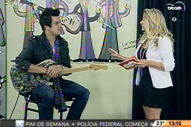TVCOM Tudo+ - Bate papo com o músico David Shyde - 14.11.14