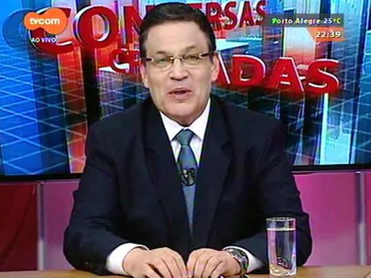 Conversas Cruzadas - Com a composição dos novos governos federal e estadual fica a pergunta: que Brasil saiu das urnas? - Bloco 2 - 29/12/2014