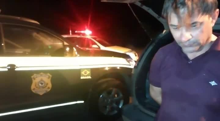 Polícia prende em Joinville homem que gravou vídeo a 160km/h em posto da PRF