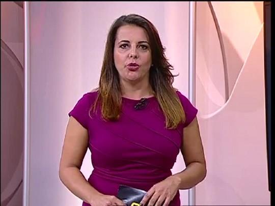 TVCOM 20 Horas - Protestos da Via Campesina - 11/03/15