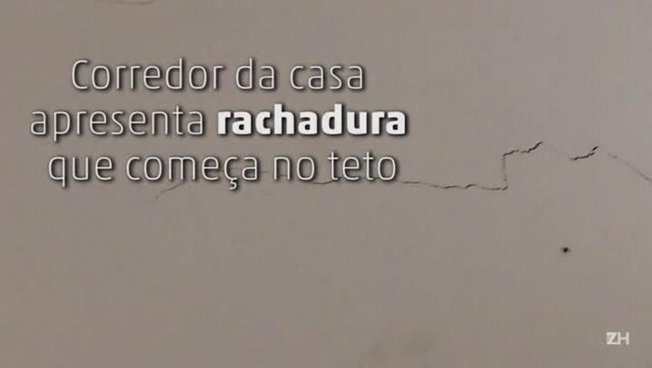 Rachaduras se espalham por casas no bairro Santa Teresa, em Porto Alegre