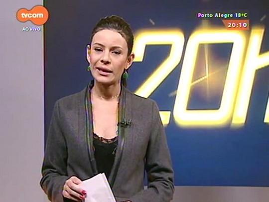 TVCOM 20 Horas - Representantes de municípios que recebem imigrantes buscam convênio de imigração em Brasília - 27/05/2015