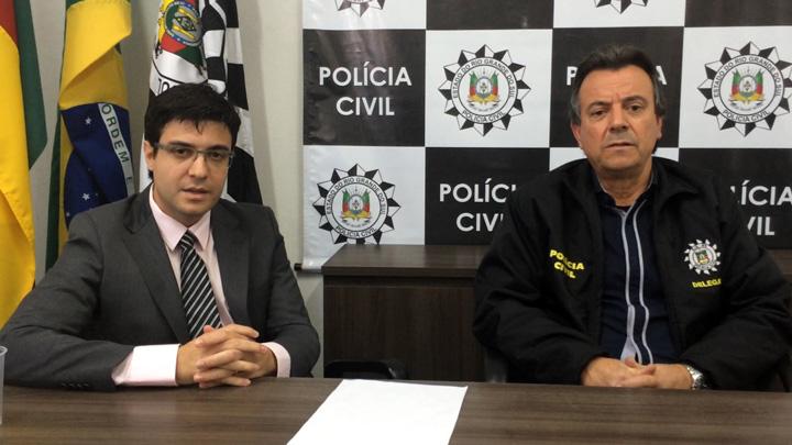 Delegados falam sobre prisão de suspeito de estupro de duas mulheres em Farroupilha
