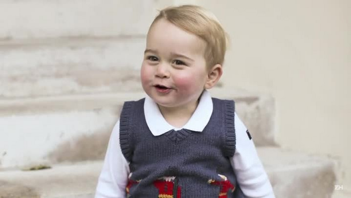 Príncipe George faz aniversário