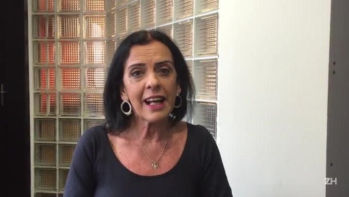 Professora explica a redação da UFRGS