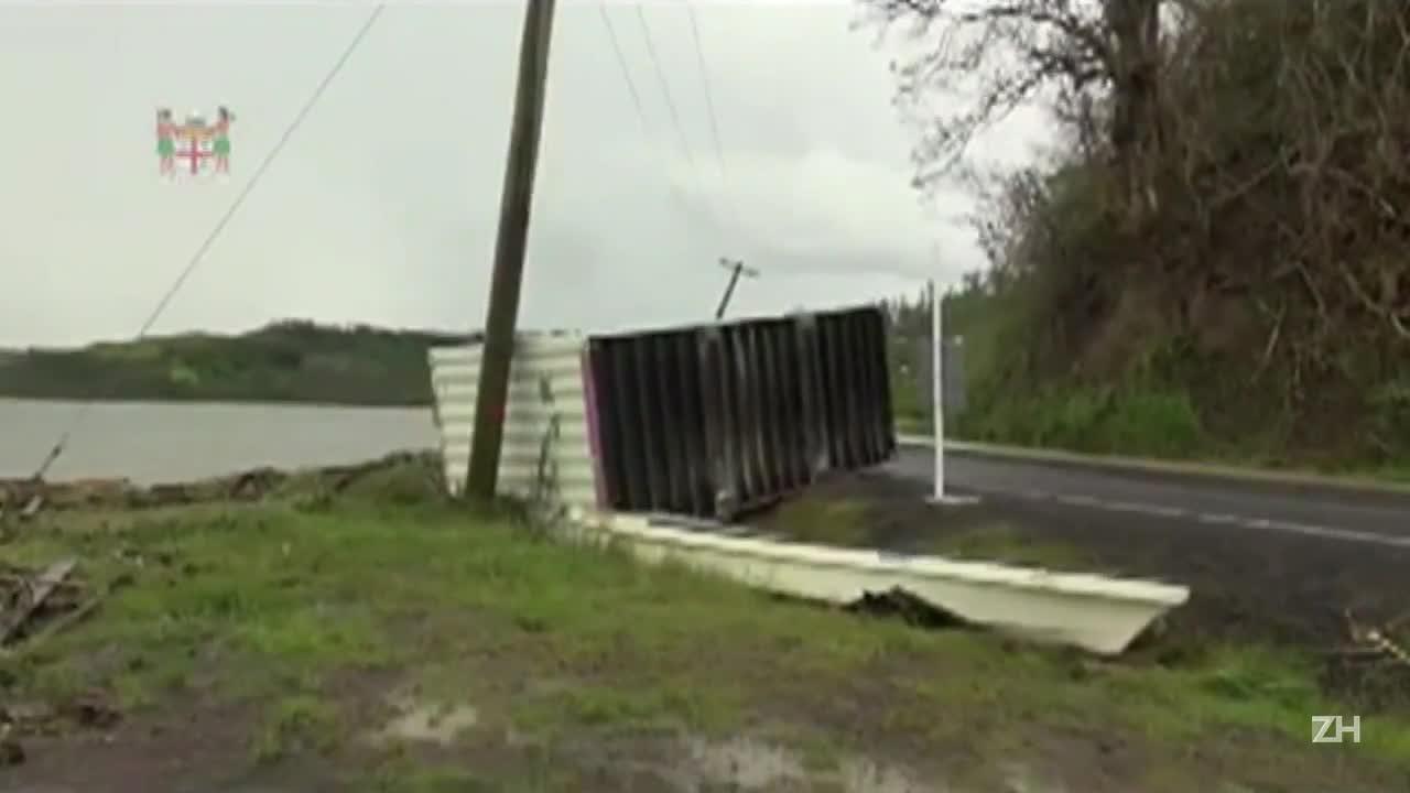 Sobe número de mortes nas ilhas Fiji por causa de ciclone