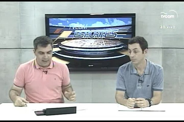 TVCOM Esportes. 2º Bloco. 26.02.16