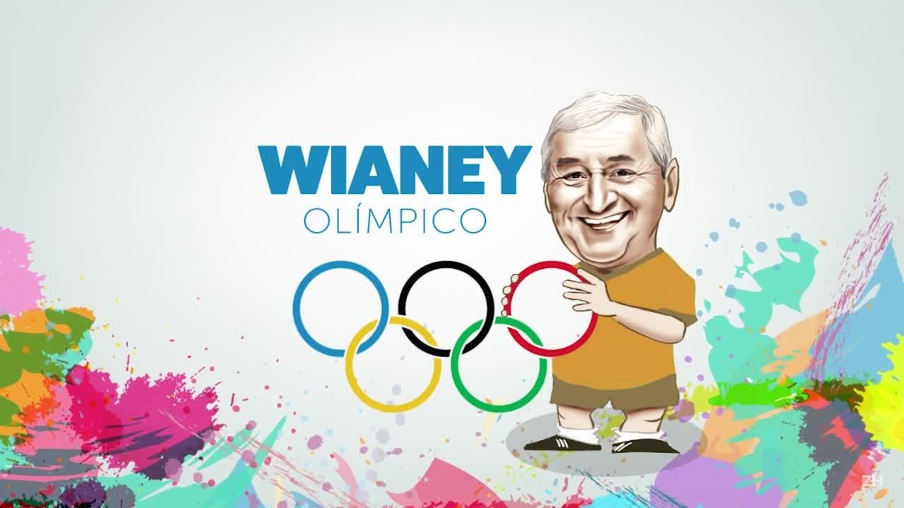 Wianey Olímpico: esgrima