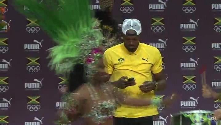 Bolt cai no samba