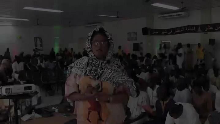 Senegaleses celebram o Gran Magal de Touba na Capital