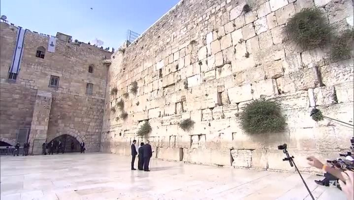 Trump visita Muro das Lamentações