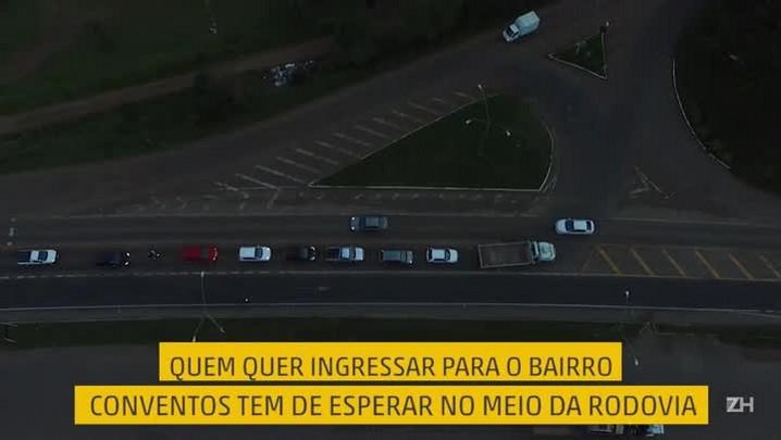BR-386 em Lajeado: o caos urbano que para a rodovia
