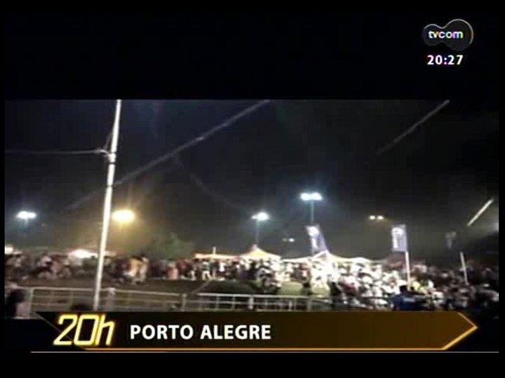 TVCOM 20 Horas - 01/01/13 - Bloco 3 - Imagens do temporal no Réveillon de Porto Alegre