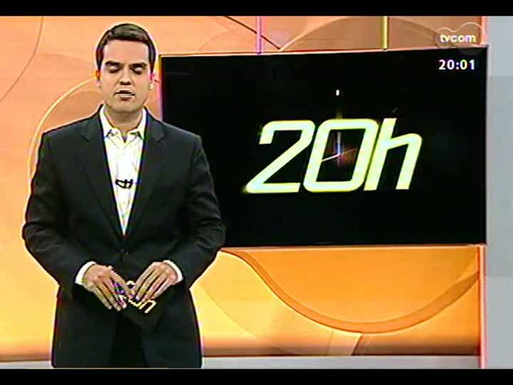 TVCOM 20 Horas - 10/01/2013 - Bloco 1 - Relatório sobre Presídio Central