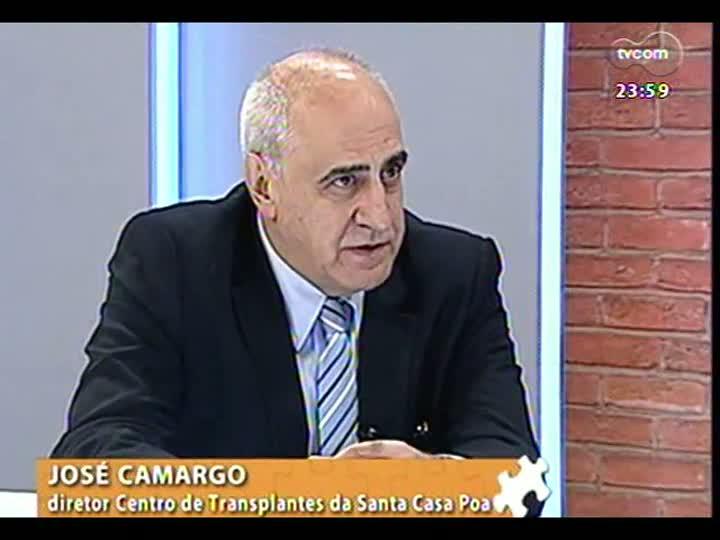 Mãos e Mentes - Restrospectiva: reveja a entrevista do diretor do Centro de Transplantes da Santa Casa de Porto Alegre, José Camargo - Bloco 3