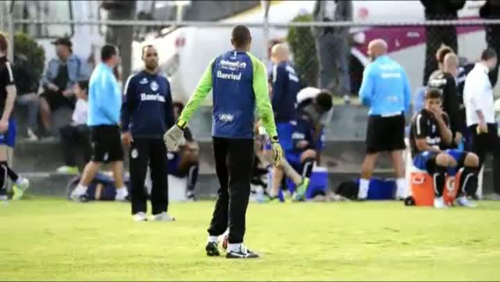 Grêmio treina em Quito