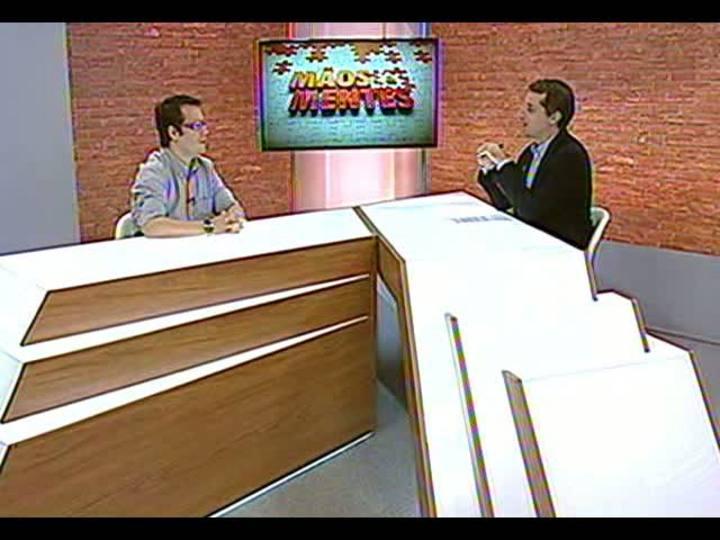 Mãos e Mentes - Jornalista e idealizador do Tchêpédia, Daniel Bittencourt - Bloco 1 - 28/03/2013