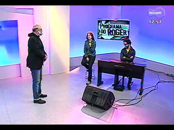 Programa do Roger - Músico Luciano Leães lança clipe \'Tit for tat\' - bloco 2 - 08/07/2013