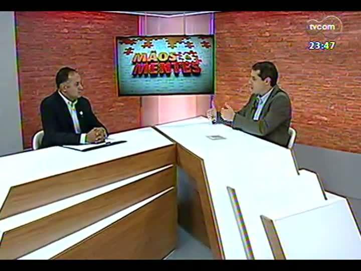 Mãos e Mentes - Diretor-superintendente da Kinder, Solimar Amaro - Bloco 2 - 12/07/2013