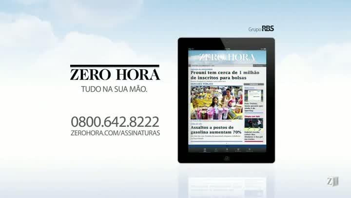 Leia na Zero Hora desta sexta-feira (19/07/2013)