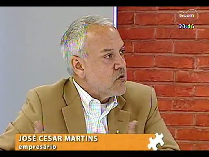 Mãos e Mentes - Sociólogo e empresário José Cesar Martins - Bloco 2 - 15/08/2013