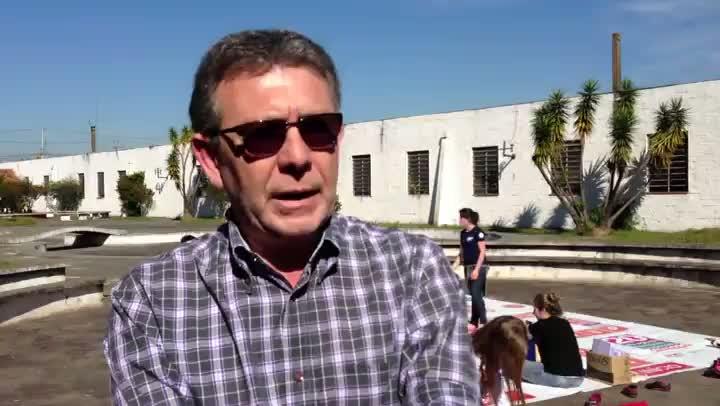 Diretor do CIT/RS, Alberto Nicolella, fala sobre conscientização. 20/08/2013