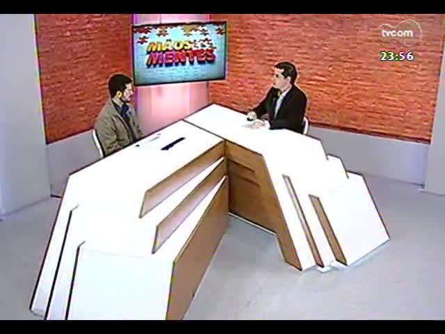 Mãos e Mentes - Veterinário e vice-presidente da Associação dos Fiscais Estaduais Agropecuários, Antônio Augusto Medeiros - Bloco 3 - 01/10/2013