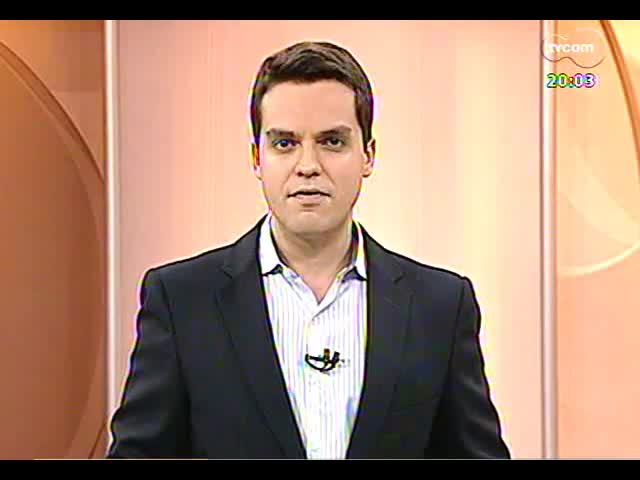 TVCOM 20 Horas - Informação sobre a operação que investiga crimes cometidos durante protestos - Bloco 1 - 02/10/2013