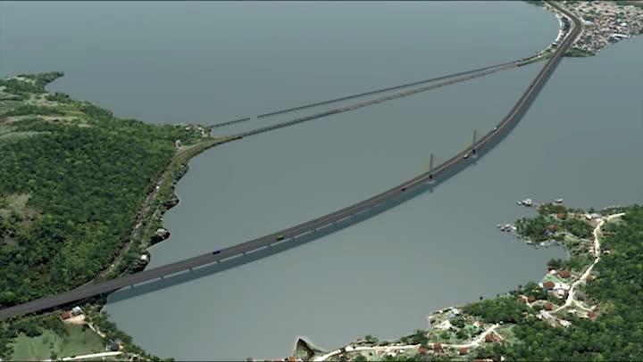 Como vai ficar a Ponte de Laguna, no Sul de SC