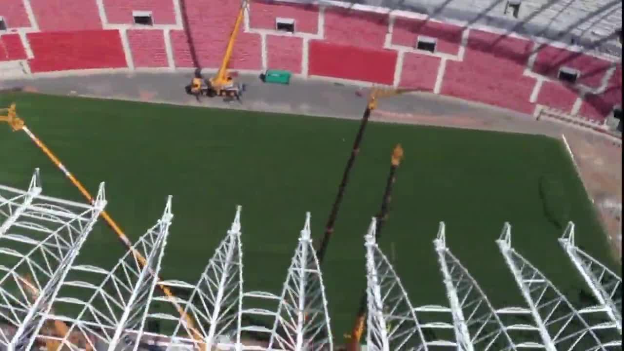 Confira as imagens aéreas do Beira-Rio - 25/11/2013