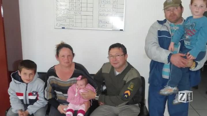 Por telefone, sargento ajuda a salvar bebê engasgado em Encantado