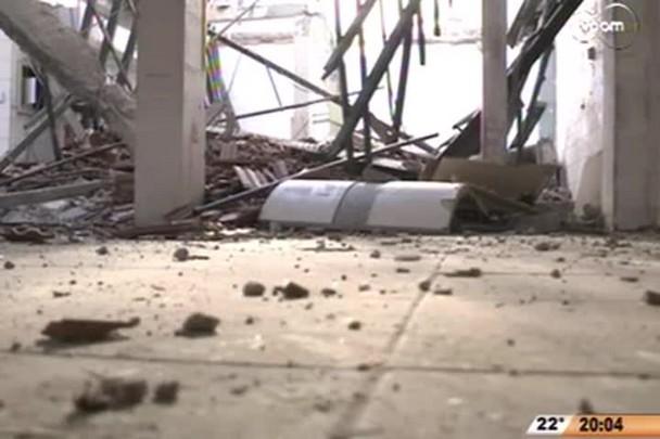 TVCOM 20 Horas - Após reabertura do Mercado Público, ala norte está com 61 boxes fechados - 1º Bloco - 08/09/14