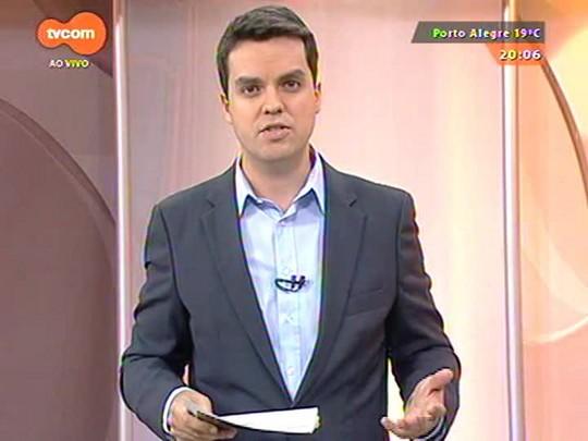 TVCOM 20 Horas - Reportagem testa a segurança de cinco hospitais. Confira o resultado - Bloco 1 - 13/10/2014