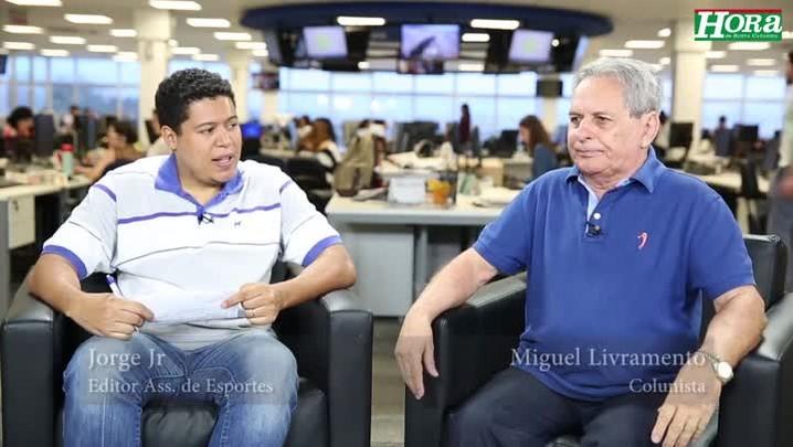 """Miguel Livramento: \""""Elenco do Avaí está pior do que do ano passado, mas pode subir\"""""""