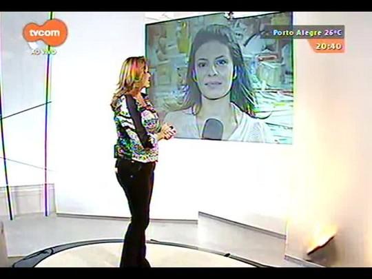 TVCOM Tudo Mais - Carolina Abelin fala com o presidente do \'Banco de Livros\' Valdir da Silveira na Feira do Livro