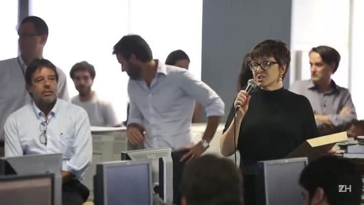 Redação de Zero Hora premia trabalhos jornalísticos