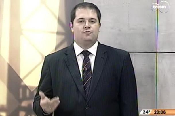 TVCOM 20h - Reforma política foi debatida esta semana em ciclo de debates da OAB - 28.11.14