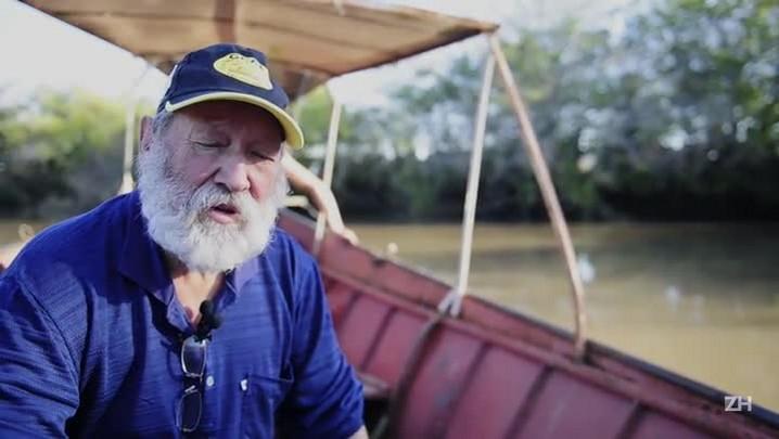 O pescador que virou guia