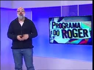 Programa do Roger - Backstreet Boys em POA - 15/06/15