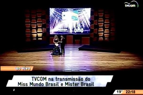 Transmissão do Miss Mundo Brasil e Mister Brasil (parte 3) - 27.06.15