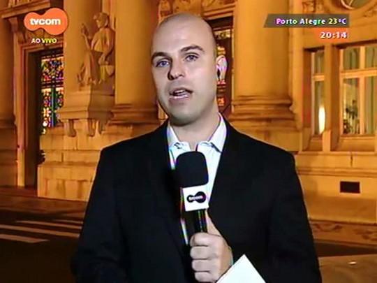 TVCOM 20 Horas - Frente parlamentar vai pedir suspensão na justiça do pagamento da dívida com a União - 17/08/2015