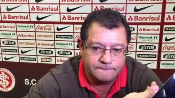Vice de futebol do Inter fala sobre empate com o Figueirense