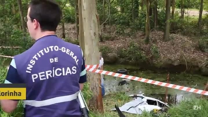 """""""Consegui estourar o vidro e sair"""", diz sobrevivente de acidente em Glorinha"""